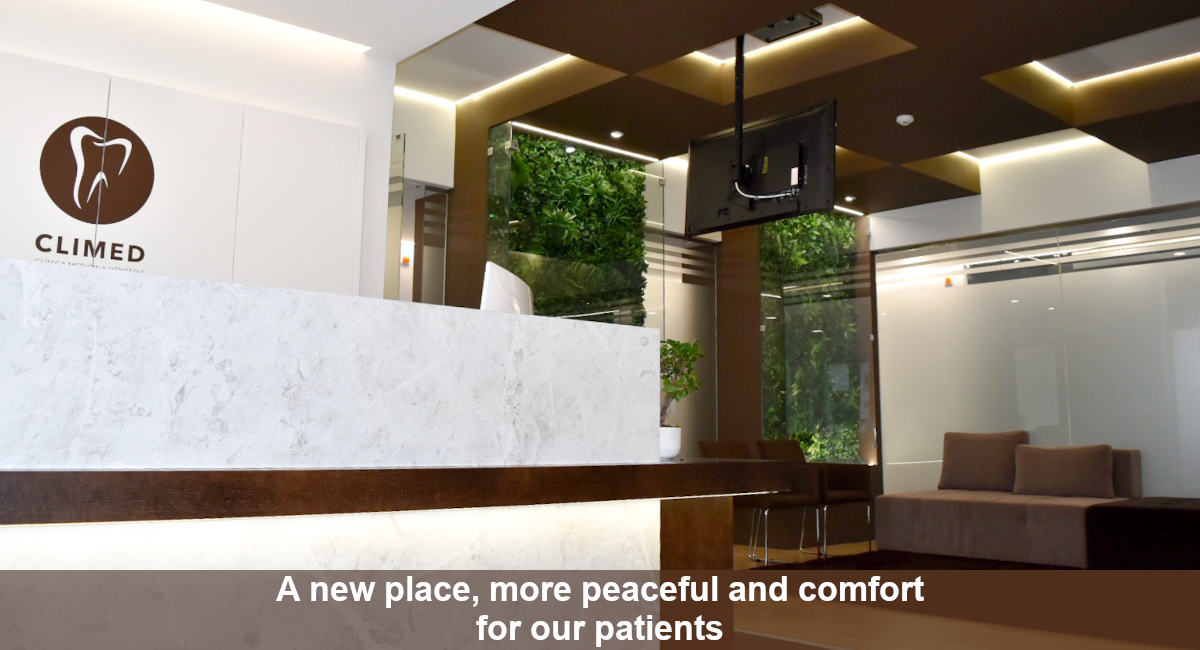 A new place, more peaceful and comfort for our patients